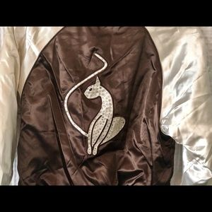 Baby Phat Satin Puffy Jacket